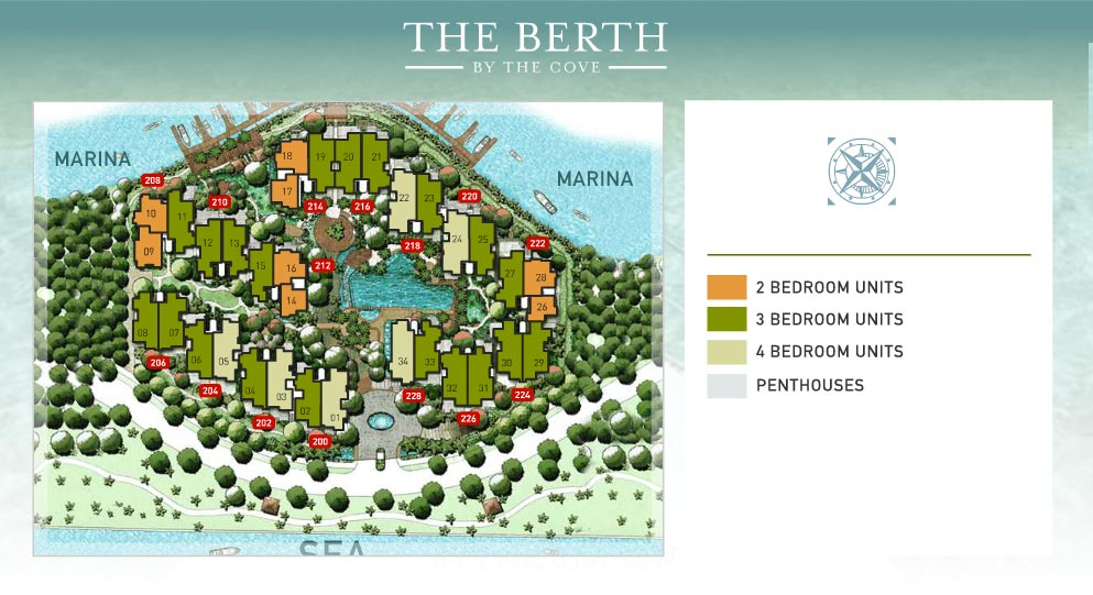 berth-by-the-cove-sitemap