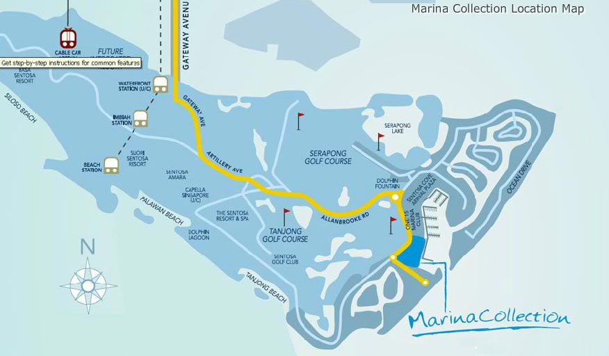 Marina-Collection-Location-Map