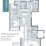 Type Ag bedroom