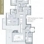 Type Cg - 4 bedroom + studio