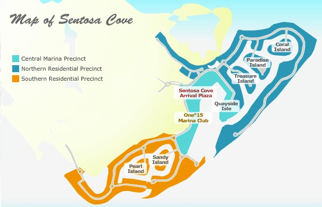 Sentosa-Cove-location-map