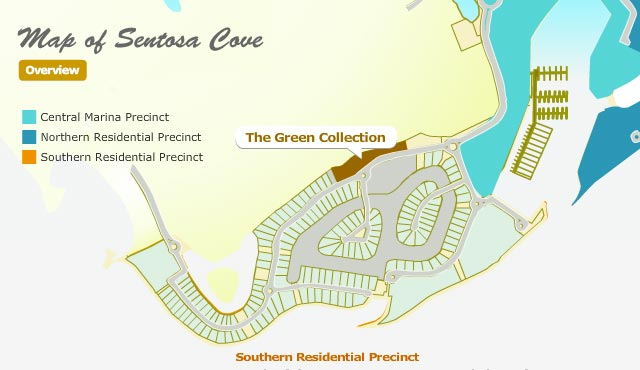 The-Green-Collection-location-map